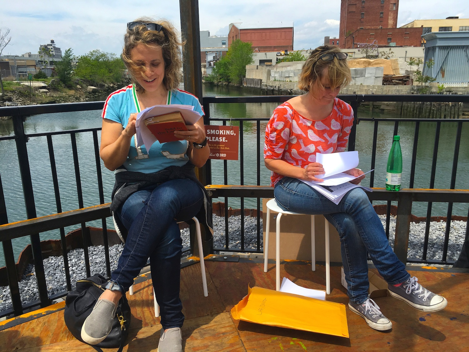 Gowanus Imagined  w/ Amy Sohn & Christina Kelly (reading about three woman living in a barge on the canal)