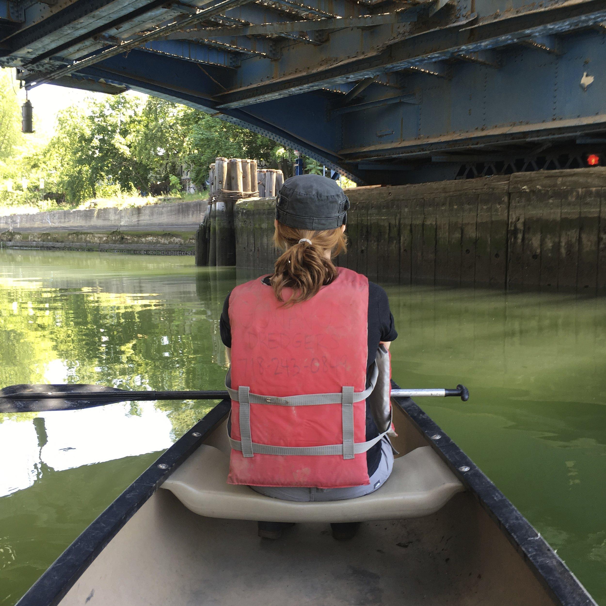 Gowanus Canoe & Photography  w/ Melissa Staiger