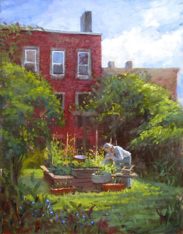 W-NITC-Garden In Bed Sty-Dalrymple-14x18-oil on canvas-2010-SOLD.jpg