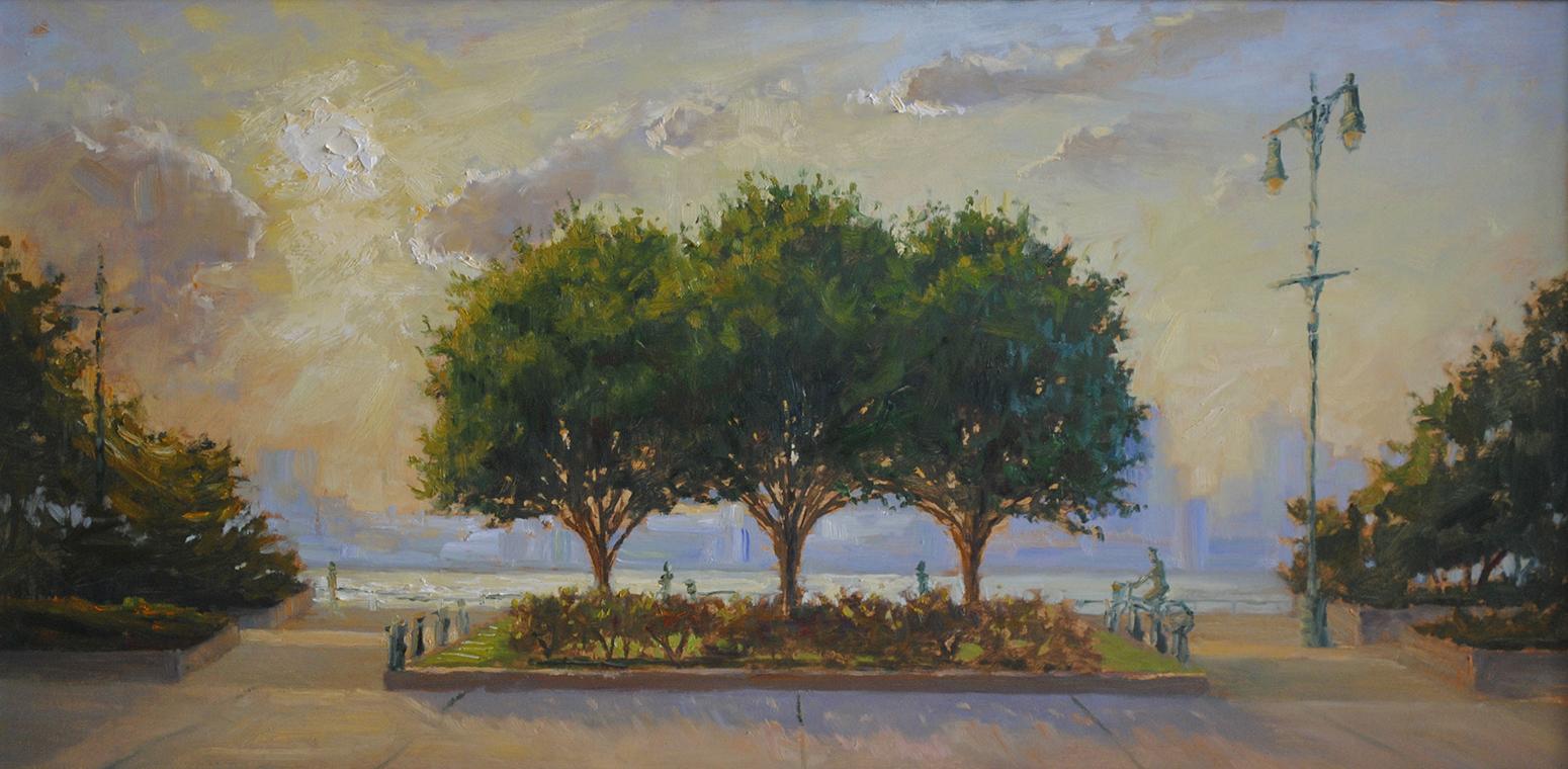 W-NITC-Three Trees Summer-Dalrymple-18x36-oil on canvas-2009-SOLD-.jpg