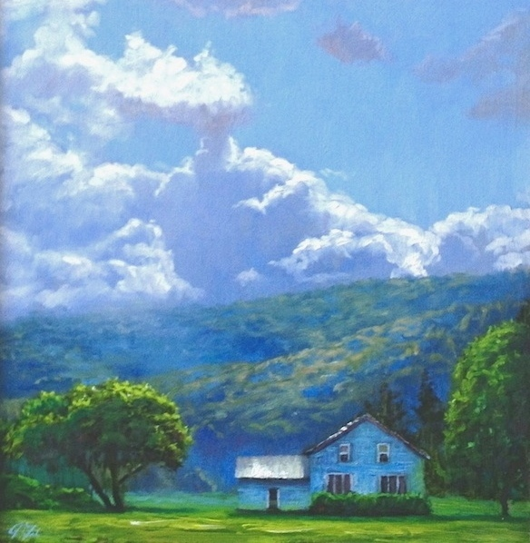 Blue & Green Landscapes
