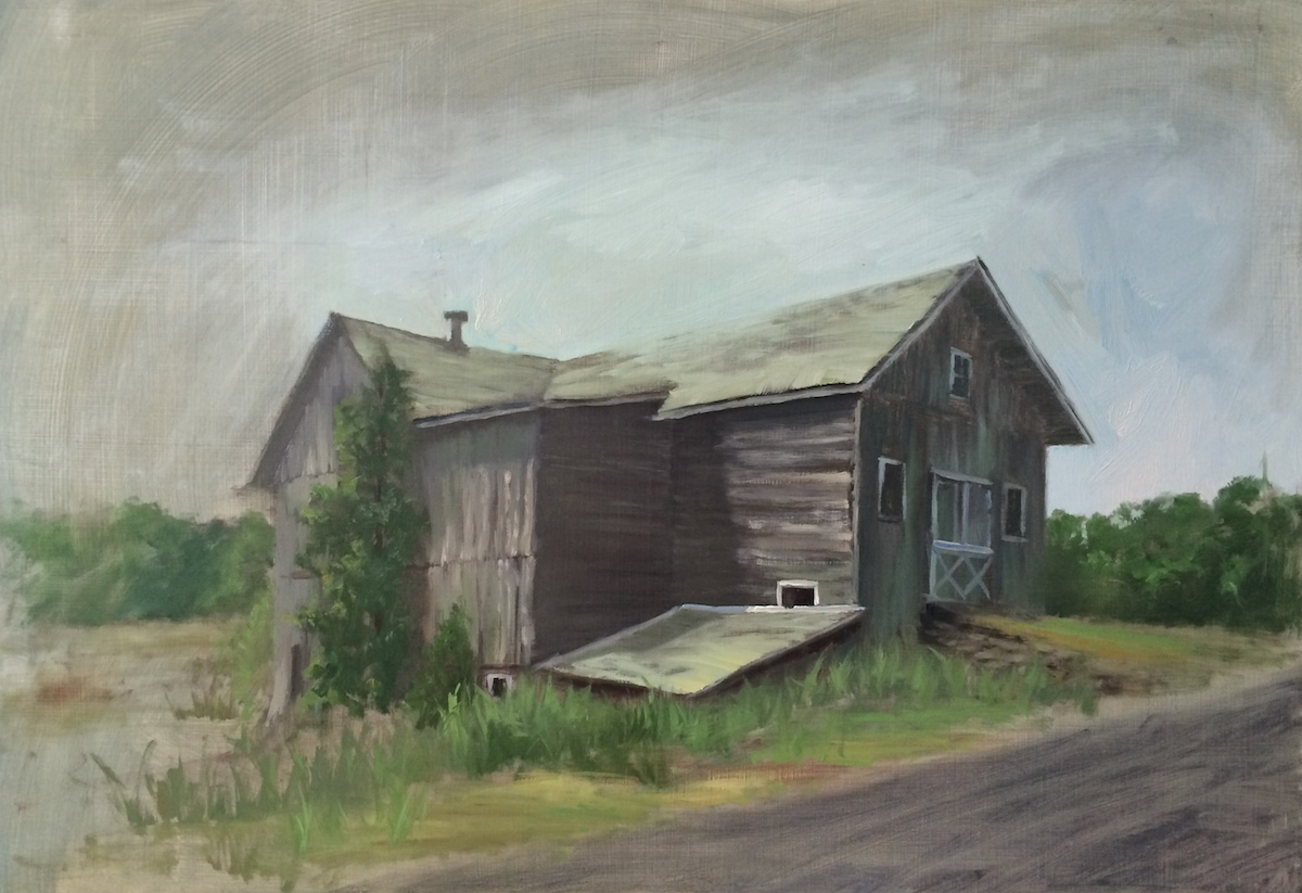 Barns in The Landscape