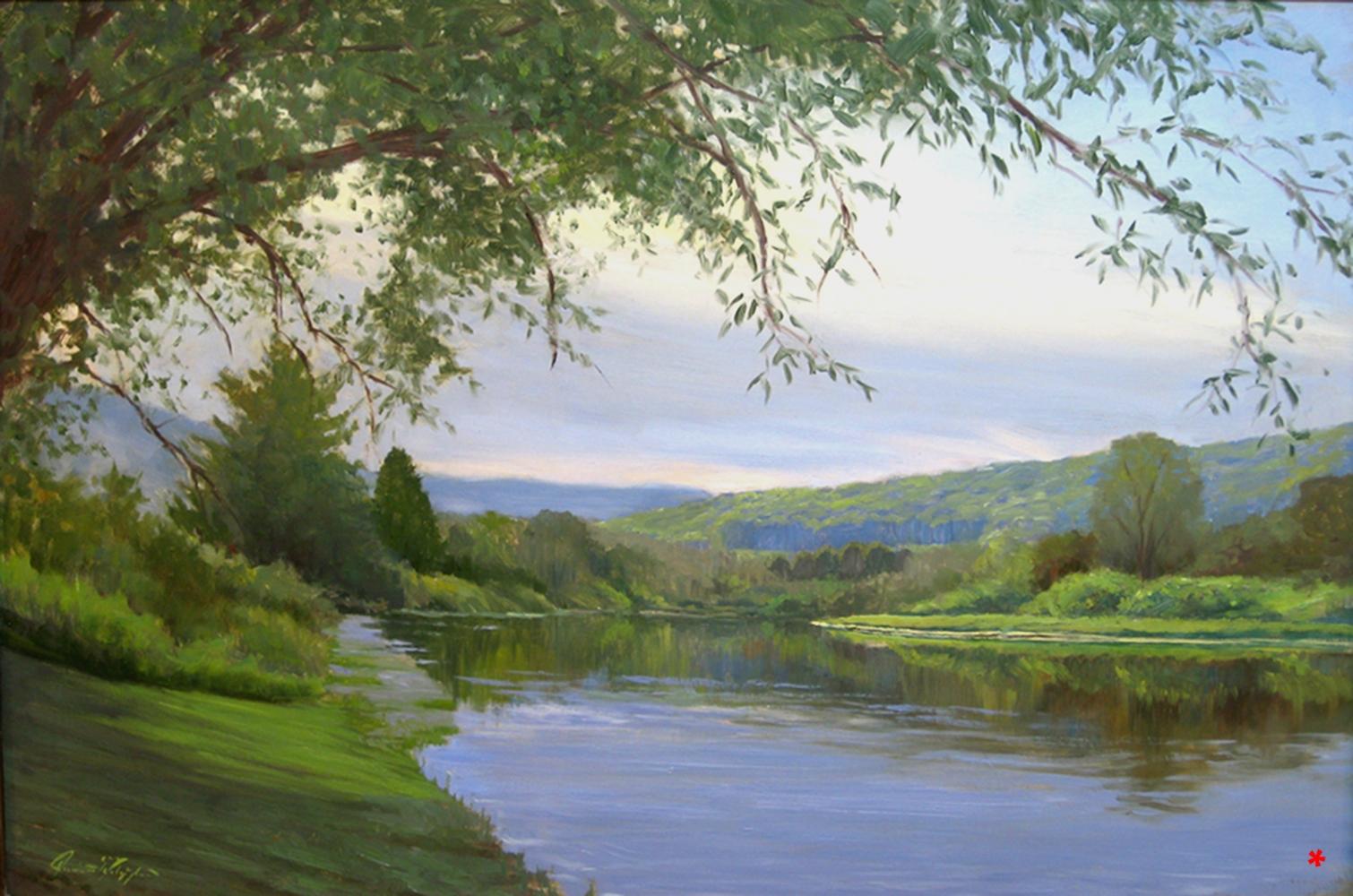 For WEB Delaware River, 24 x 36, oil on canvas copy 2.jpg