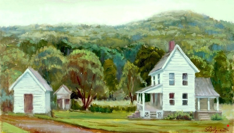 1. White farmhouse.JPG