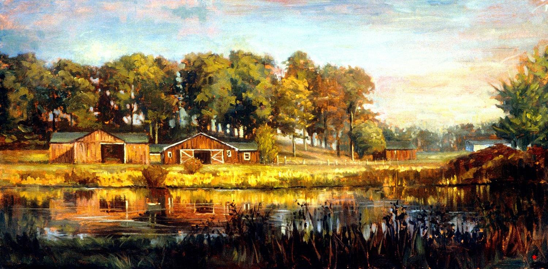 W-BITL-Twin Barns-Dalrymple-18x36-oil on canvas-2007-SOLD.jpg