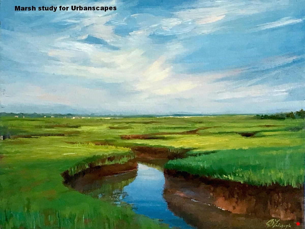 Marsh study for  Urbanscapes