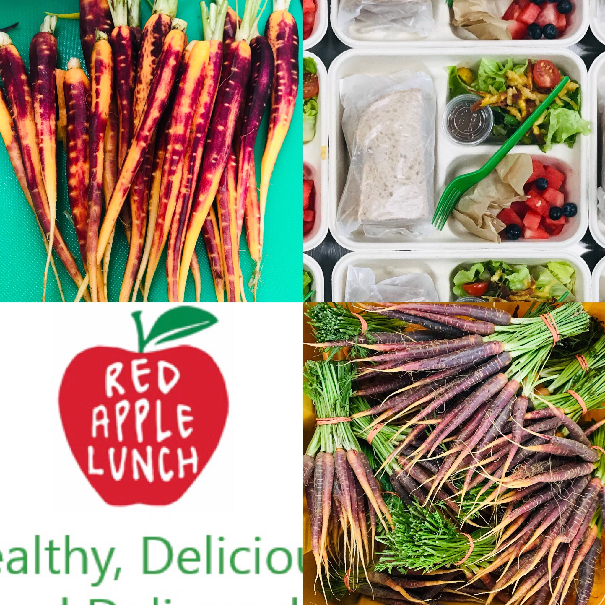 Red Apple Lunch, Lisa   Thoughtfully sourced, prepped and delivered school lunches for kids and adults. Bringing your lunch to you at home, camp and school.
