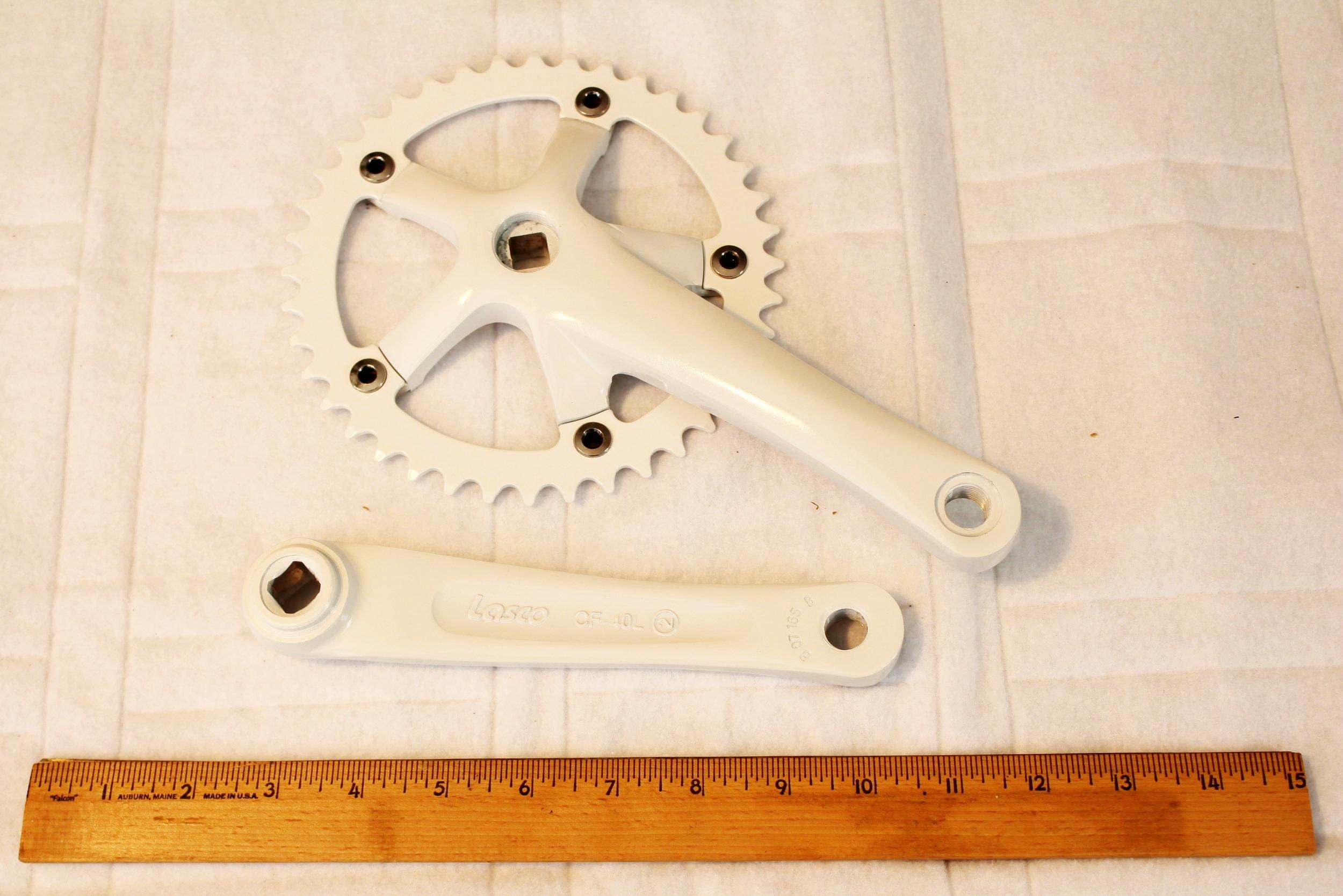 Cranks Basic Crank Low - White