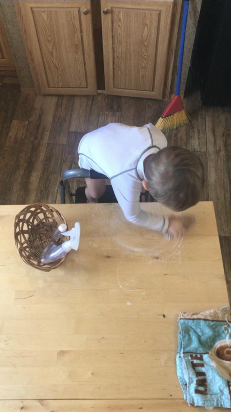 Table Scrubbing
