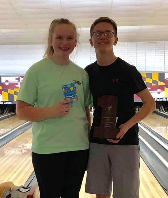 The 2019 Parkville Classic Winners- Kyle Bull &Emily Hamp - The first and second place finishers in the Parkville Classic.