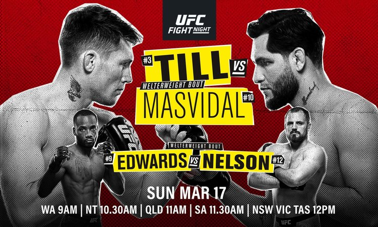 UFC Fight Night: Till vs Masvidal | Better at The Pub
