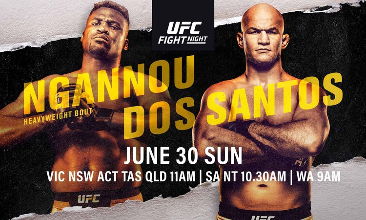 UFC FIGHT NIGHT: FRANCIS NGANNOU VS JUNIOR DOS SANTOS | Better at