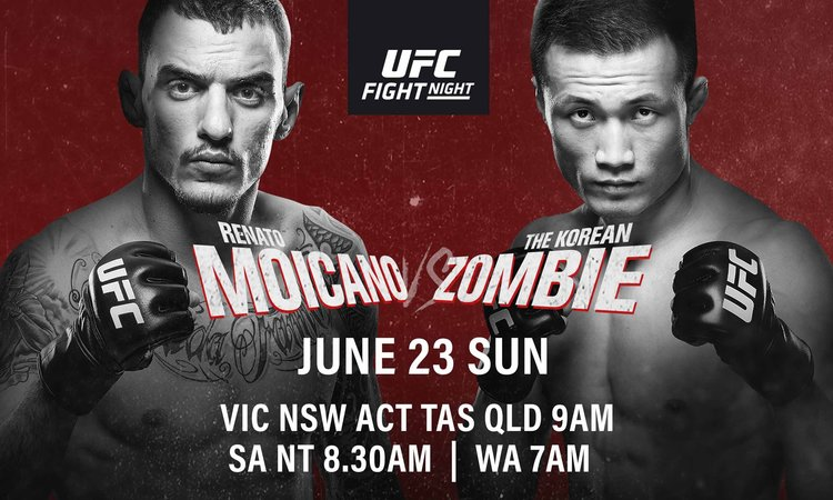 UFC FIGHT NIGHT: MOICANO VS KOREAN ZOMBIE | Better at The Pub