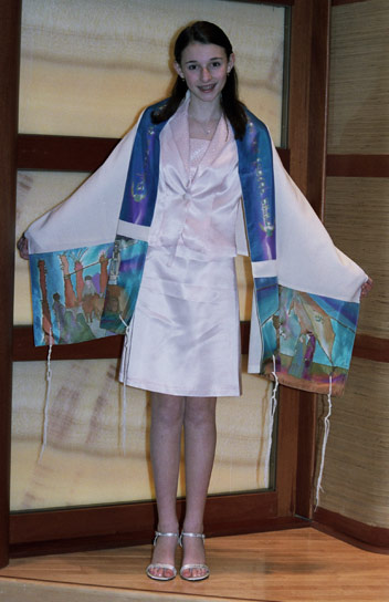 Feedback about the Tzav Tallit - Thank you very much for fulfilling our recent order so promptly.Everything arrived safely two days ago and in excellent condition. We are very pleased. Our daughter will certainly have a special gift that she will enjoy for her entire lifetime. Shalom! Larry Mason