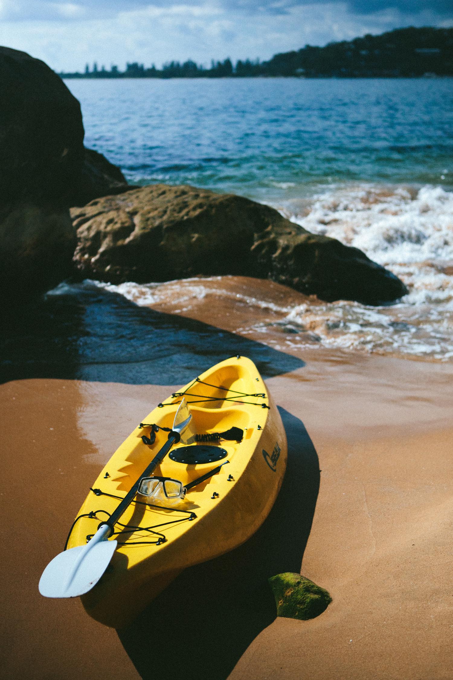 Guest kayaks
