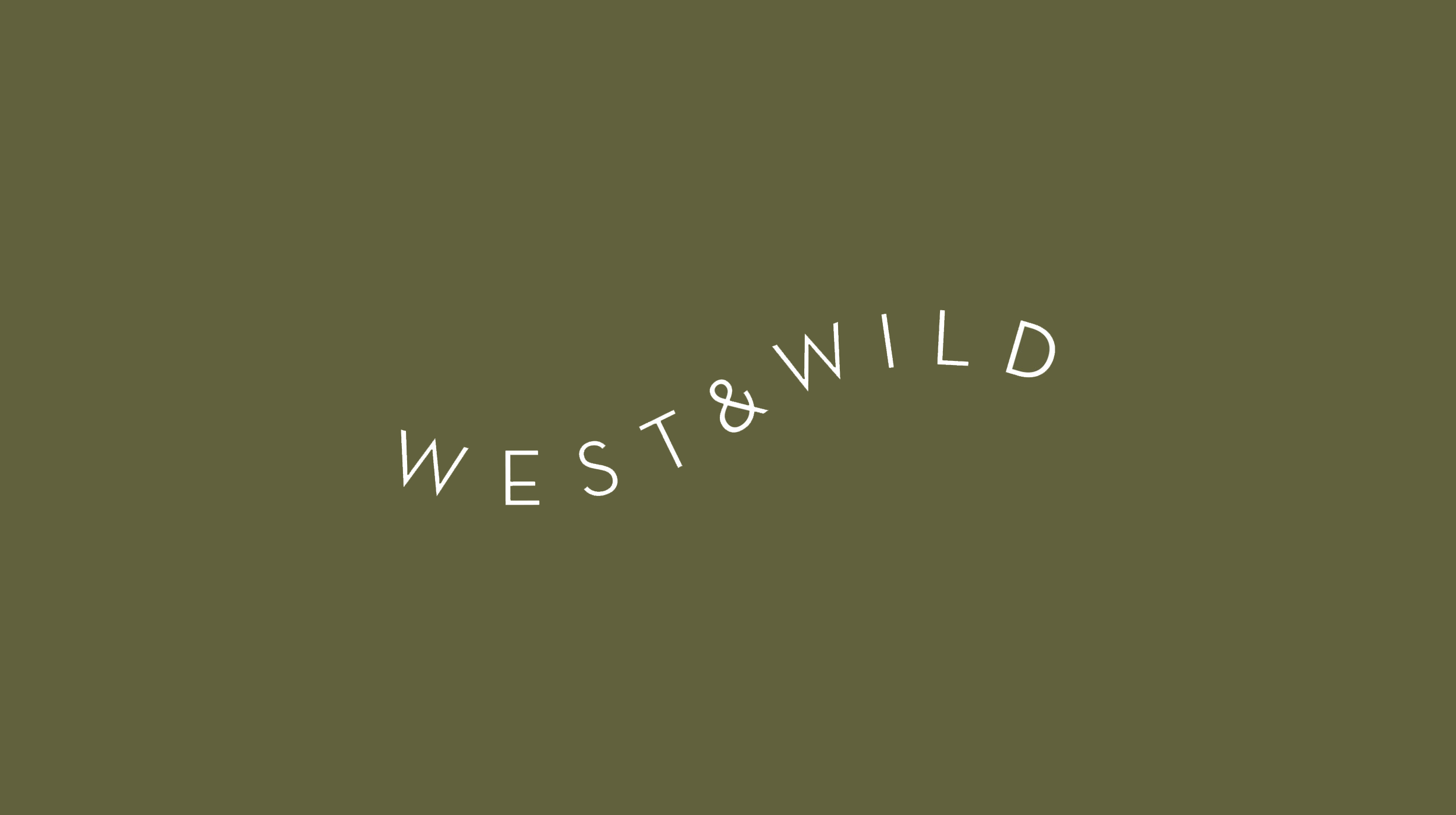 Branding and illustrations for  west&wild , designers of vacation destinations.