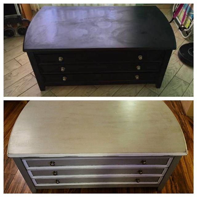 Furniture Projects:  Before on top After on bottom  I love french country style furniture!!