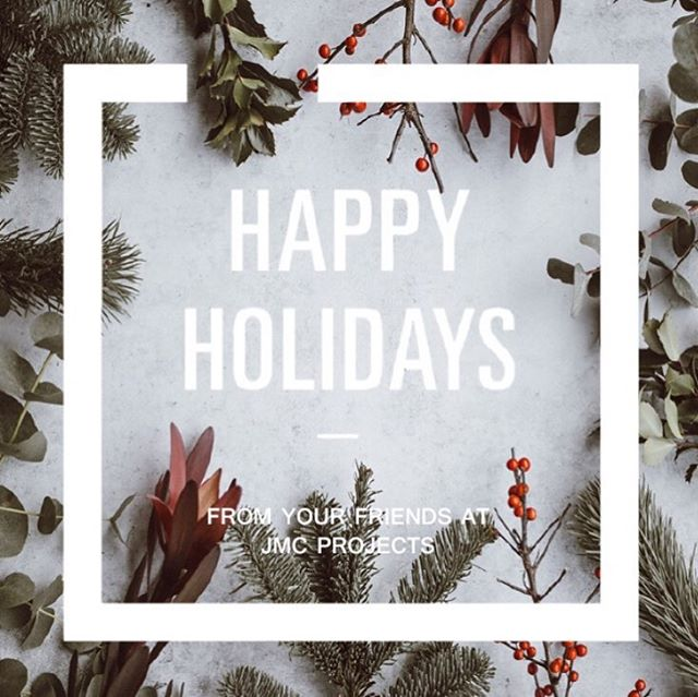 Wishing you all a relaxing and joyful break!  Thanks for all your support, friendship and fun throughout this amazing year, and here's to many, many more happy memories in 2019.  #designbyjmc #interiordesign #officedesign #officefitout #happyholidays