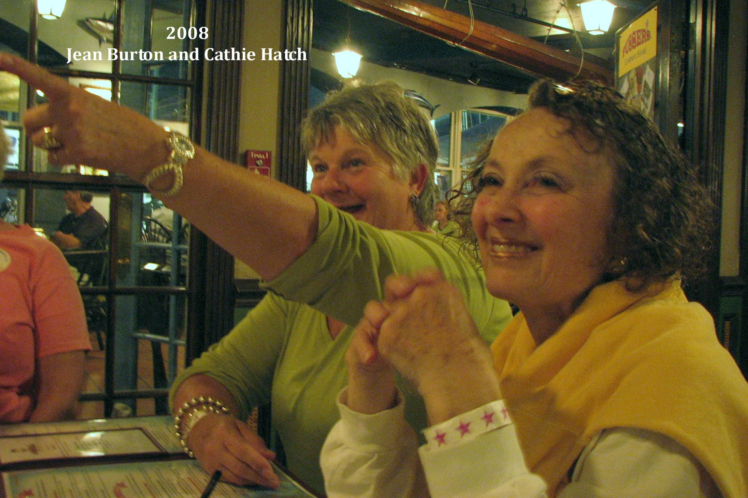 2008 Jean Burton and Cathie Hatch 2008.jpg