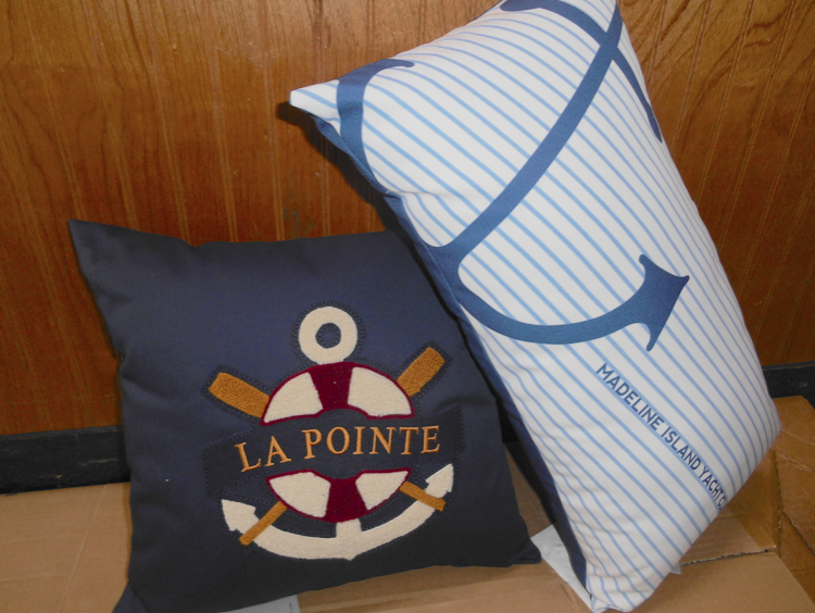 Nautical Cabin Pillows - $24.99