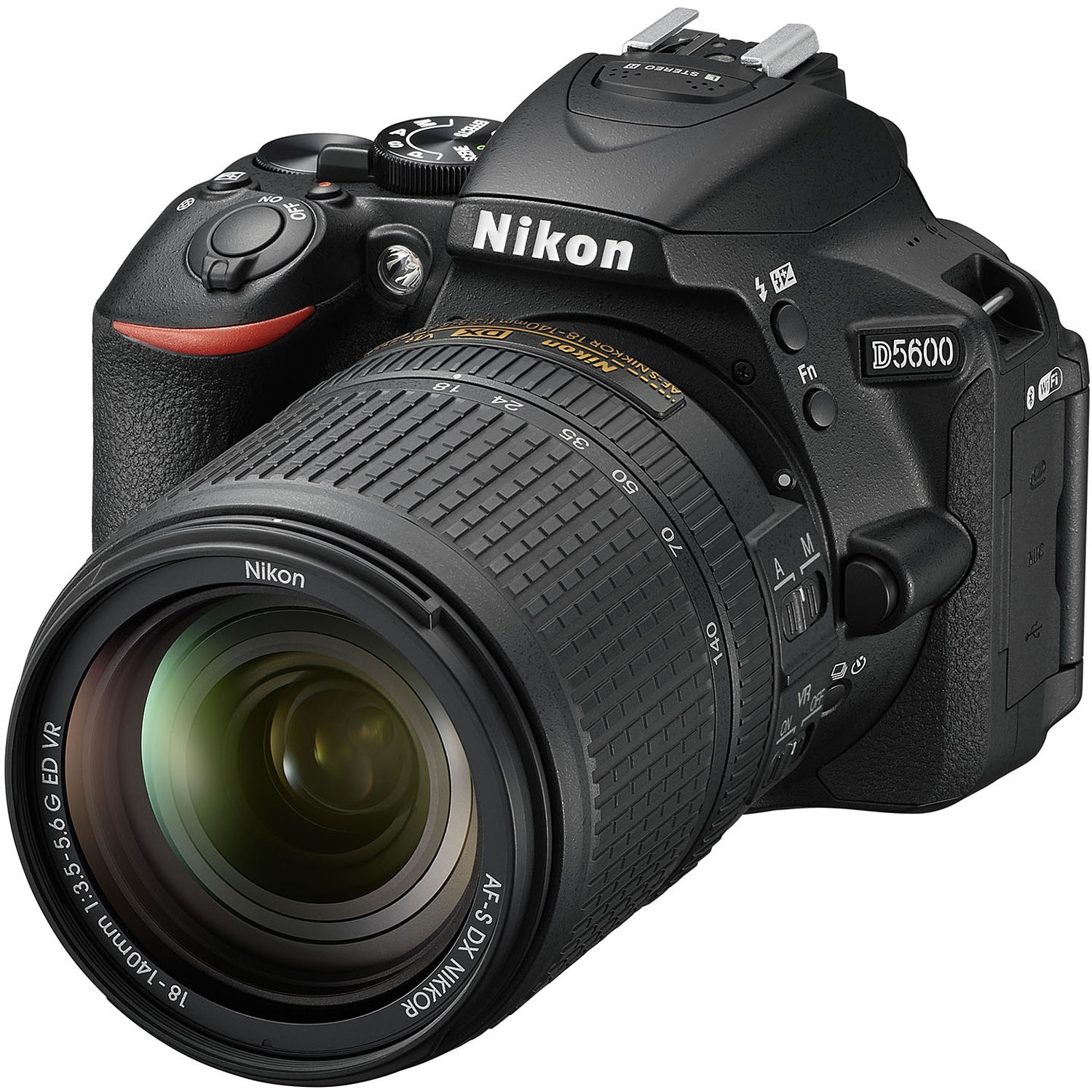 Nikon D5600 - This camera has a few extras, and was a nice step up from the D3300. I shot photos and video of my kids' sports and family vacations. I really liked its articulating touch screen, Wi-Fi, and Bluetooth.