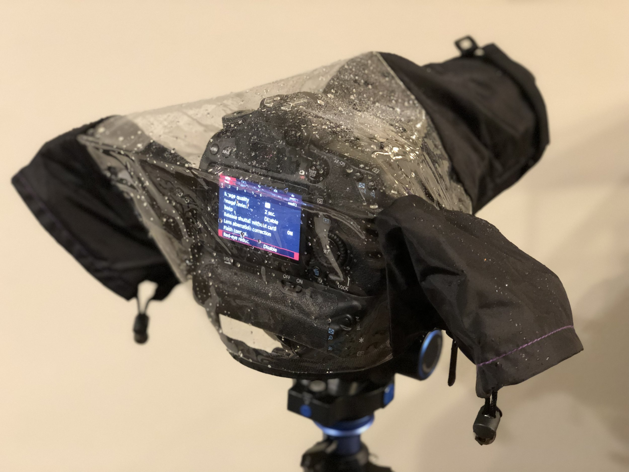 Is there a chance you might get caught in the rain with your camera? Keep one of these in your camera bag!