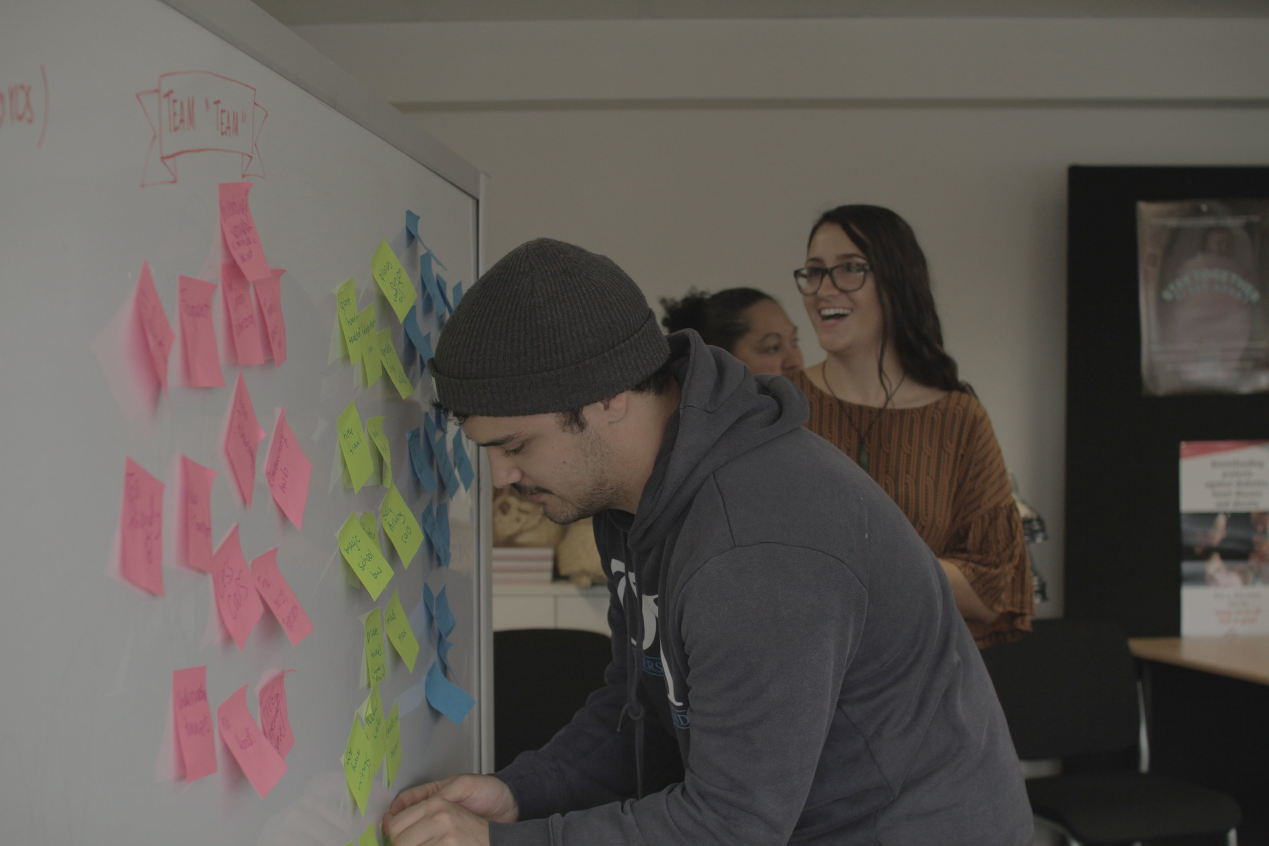 Getting the community involved in design.