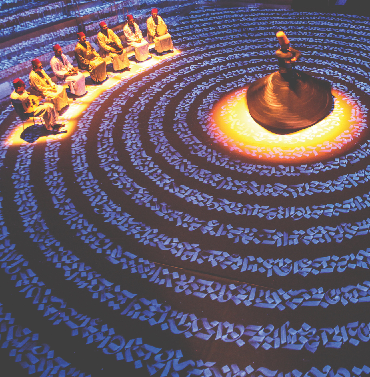 'White Spirit' Ensemble Noureddine Khourchid & the Whirling Dervishes of Damascus