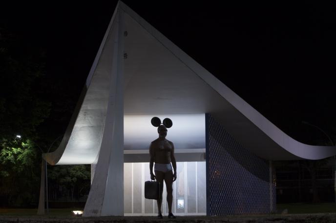 'Brasilia' collaboration with Matthew Bird (2015) Photo credit Vitor Schietti