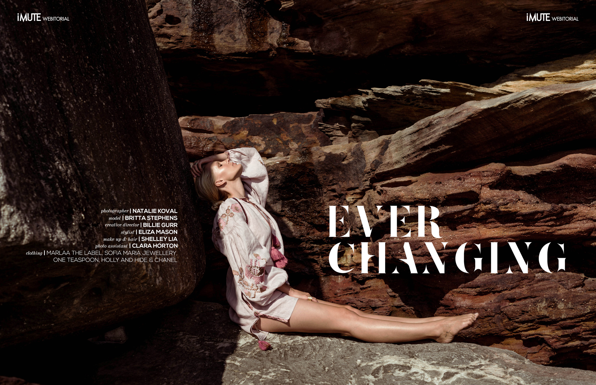 'Ever-Changing' Webitorial featured in iMute Magazine
