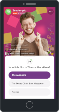 Question sponsored by The Avengers