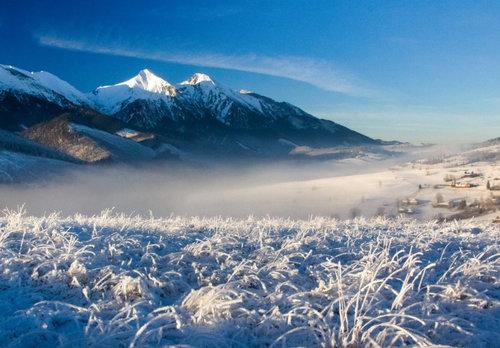zima v belianských tatrách -
