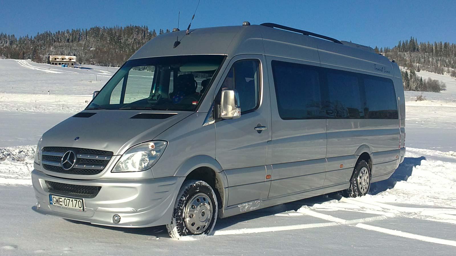 Mercedes-Benz Sprinter 515 - Počet miest: 20+1 osôb
