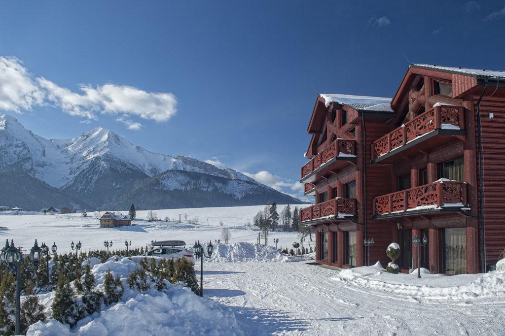 mountain resort -