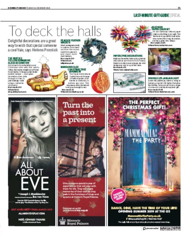 The Evening Standard 11-12-2018 Ella James.jpg