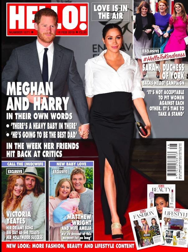 Hello! Magazine 18th February 2019 Cover.jpg