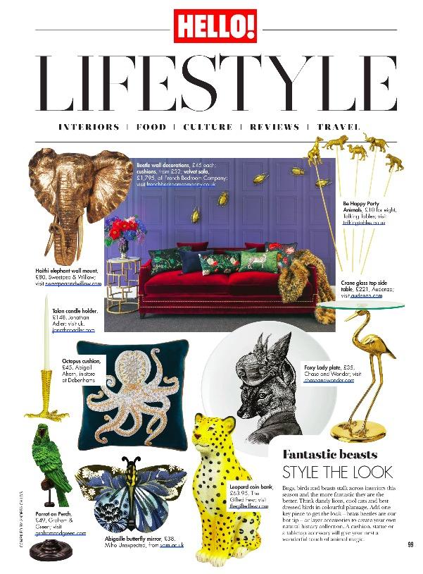 Hello! Magazine 18th February 2019 The Gifted Few.jpg