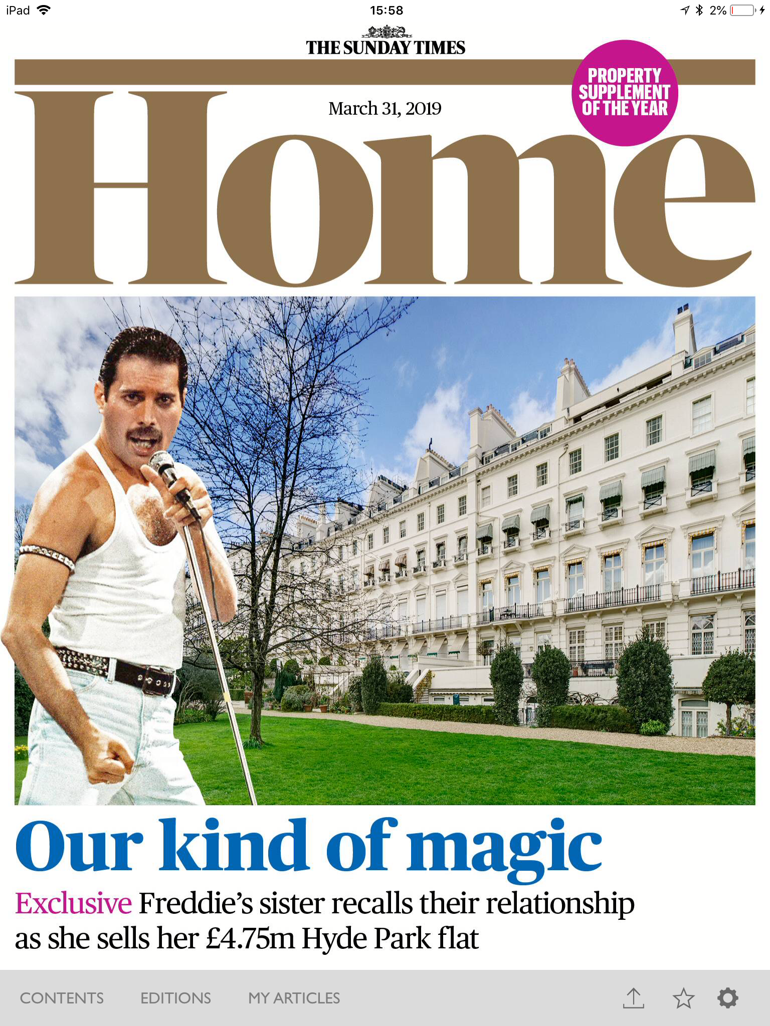 The Sunday Times Home 31st March 2019 Cover.png