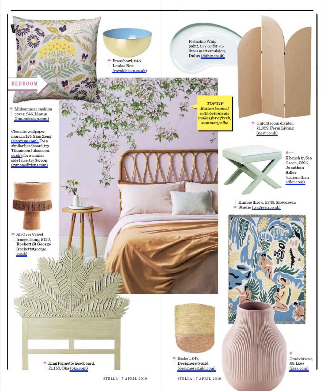 The Telegraph Stella Magazine 07-04-2019 Tikamoon.jpg