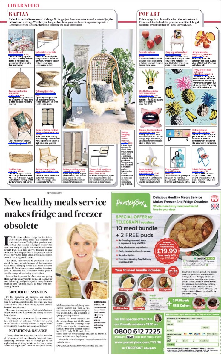 The Telegraph 13th April 2019 W.A.Green.jpg