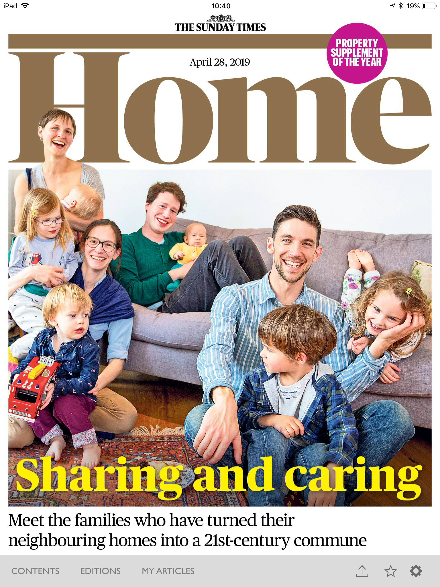 The Sunday Times Home April 28th 2019 Cover.jpg