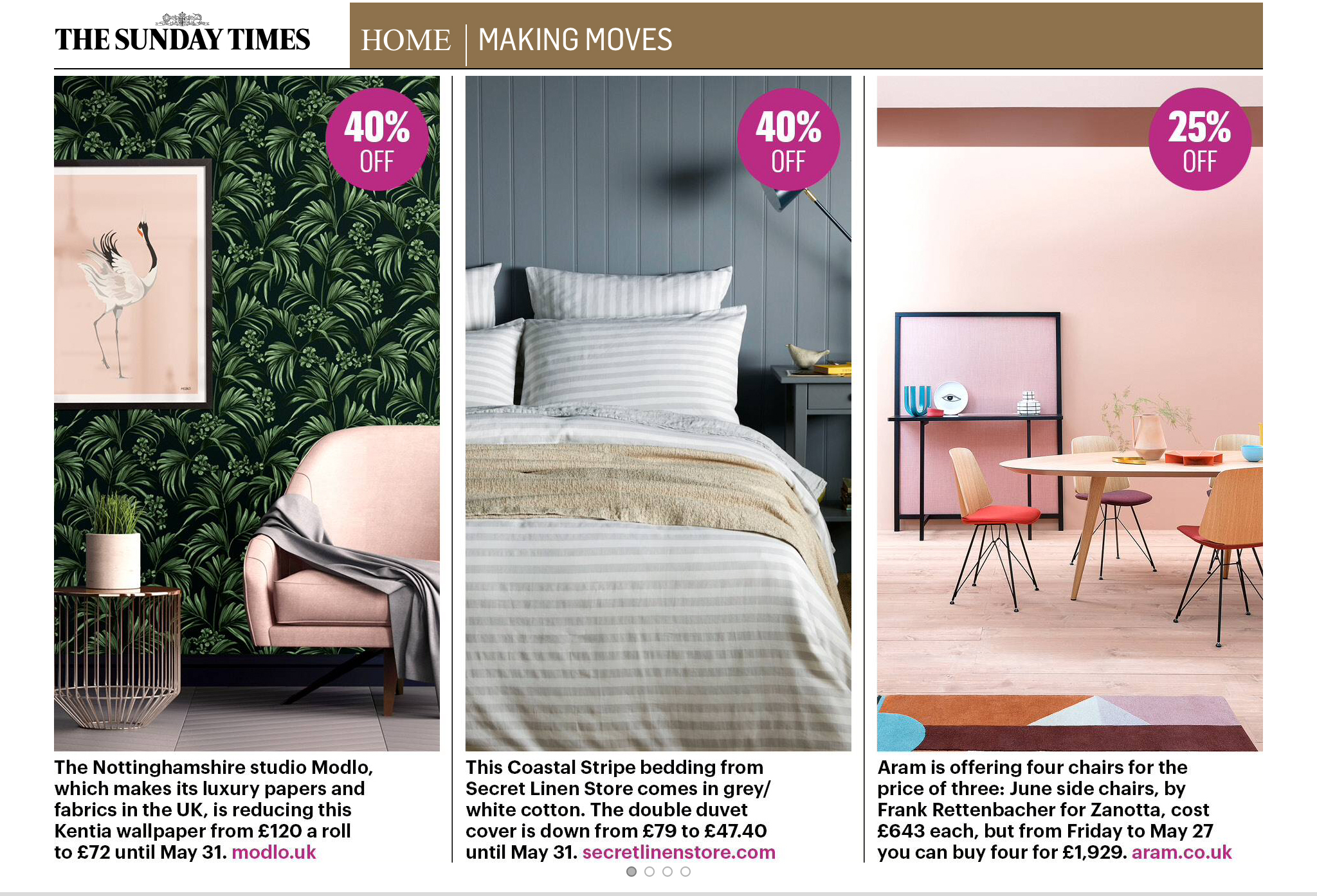 The Sunday Times Home 19th May 2019 Modlo and Secret Linen Store.jpg
