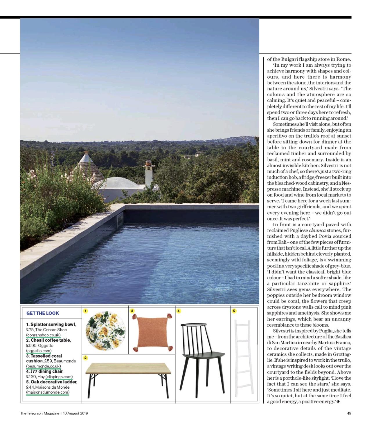 The Telegraph Magazine 10-08-2019 Oggetto.jpg