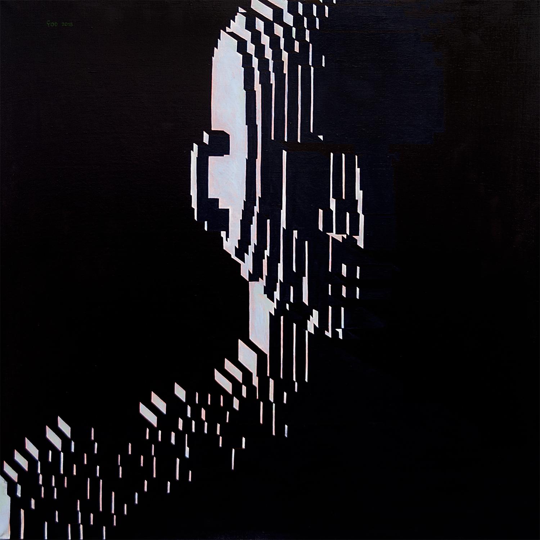 Yod, In the dark, 2018 canvas, tempera, gouache 80 x 80 cm. N047.JPG.jpg