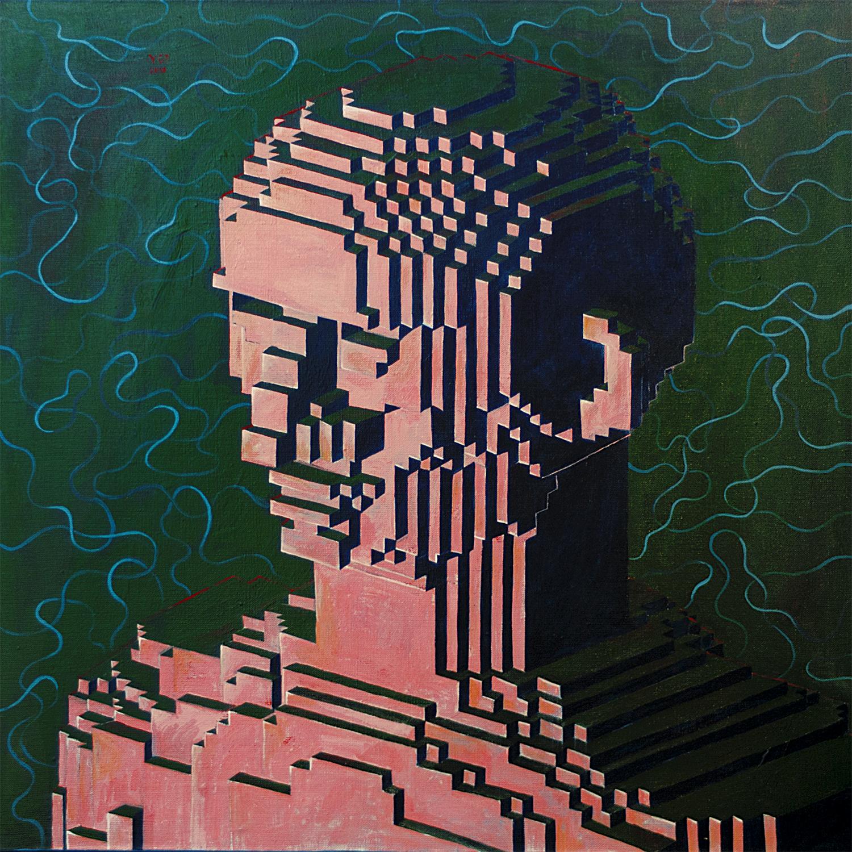 Yod_Sad man, 2018 canvas, tempera, gouache 60 x 60 cm. N039_1500 px.jpg