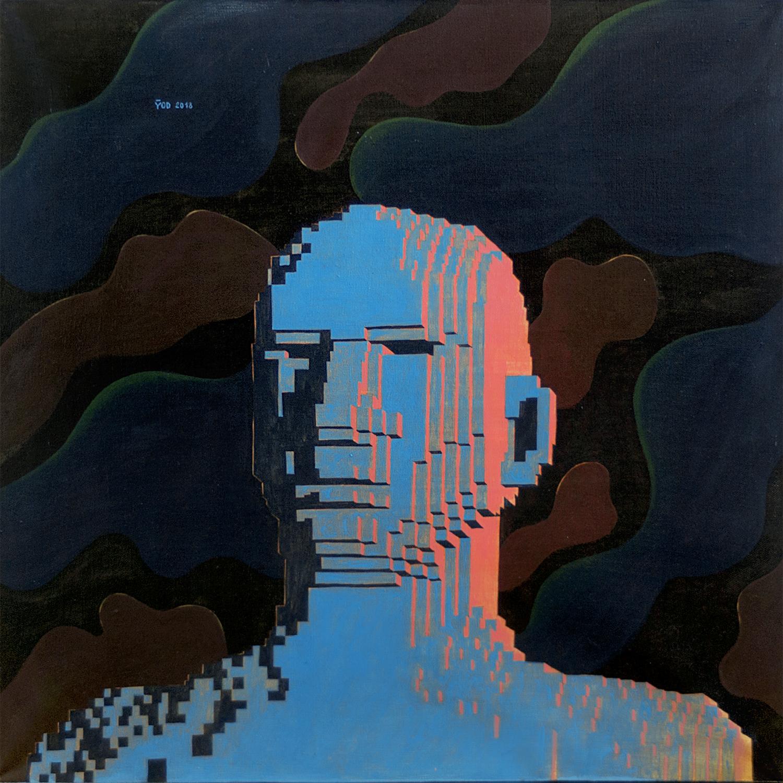 Yod, At night, 2018 canvas, tempera, gouache 60 x 60 cm. N045_1500 px.jpg