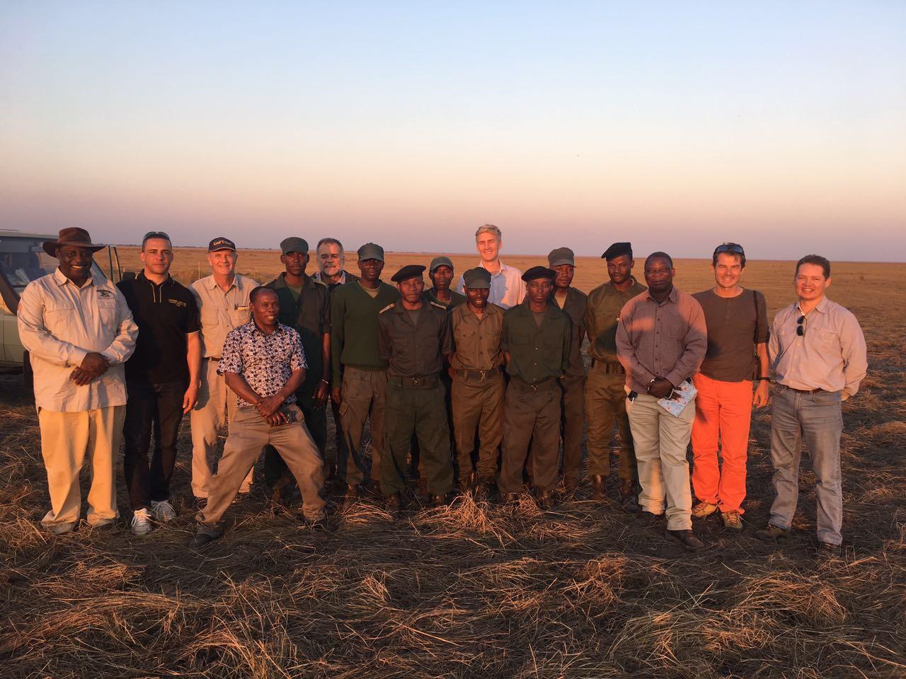 Team photo during field trip