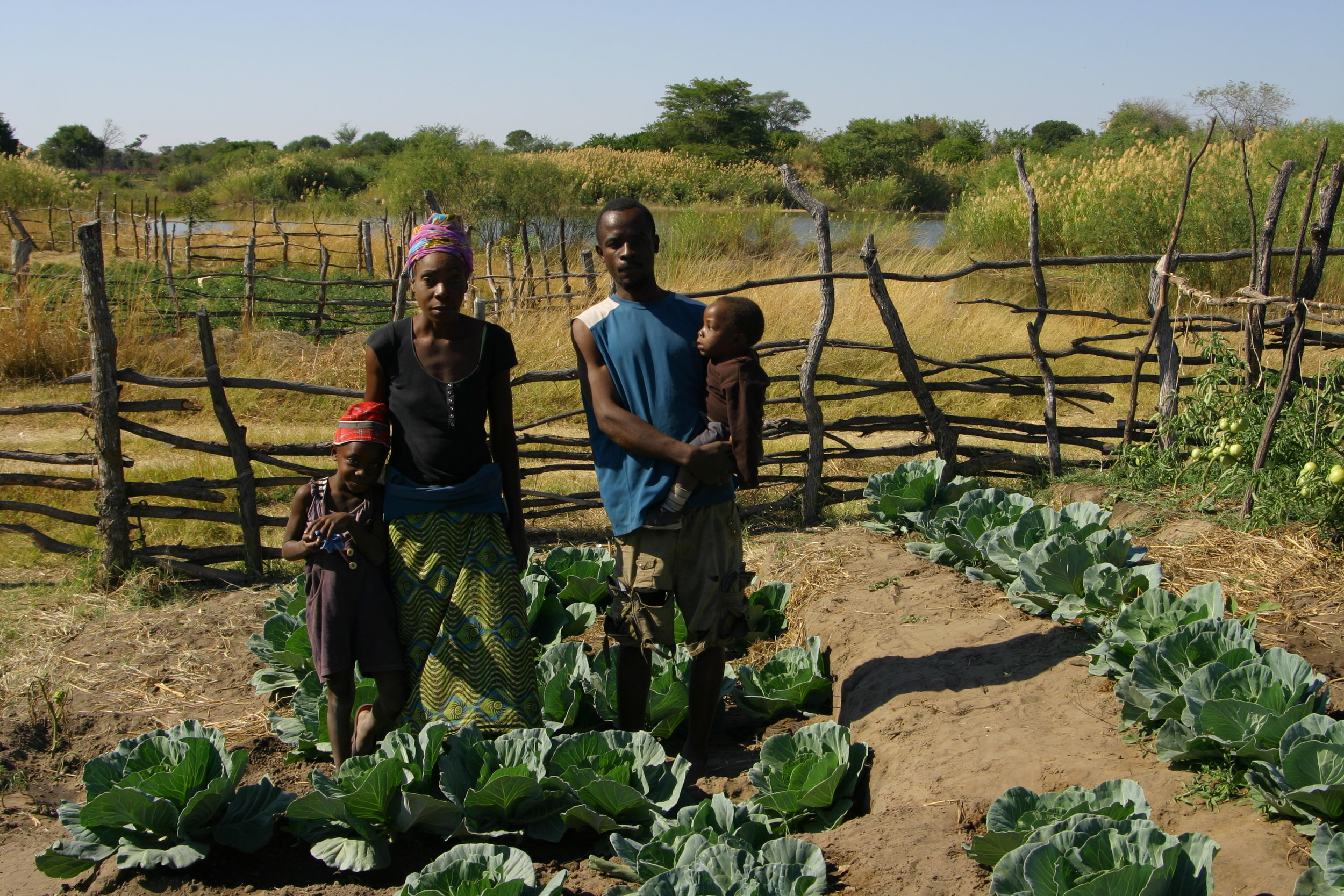Subsistence agriculture in Zambia  (c) Peace Parks Foundation