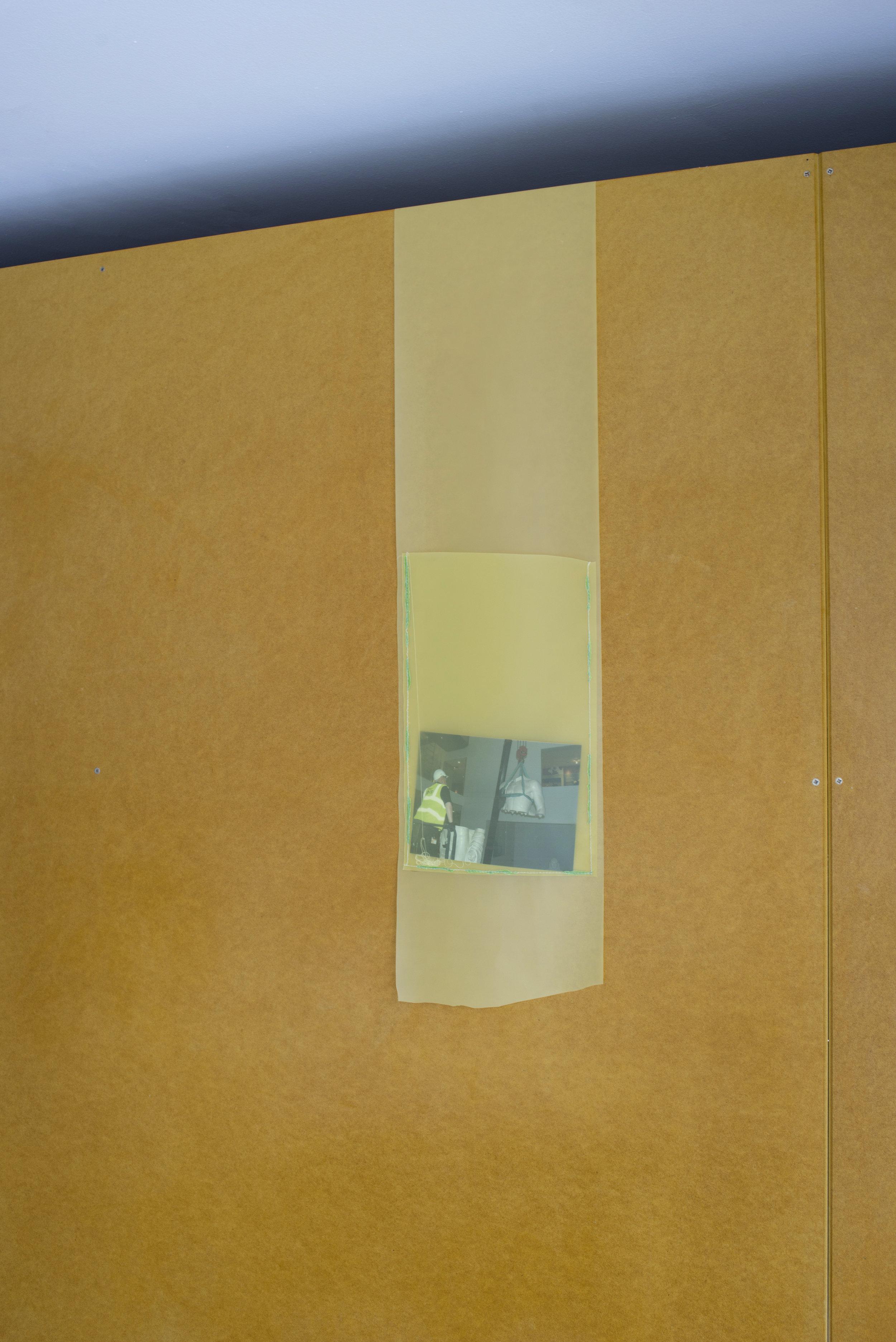 PVC fabric, photograph, 2018 22 cm x variable length