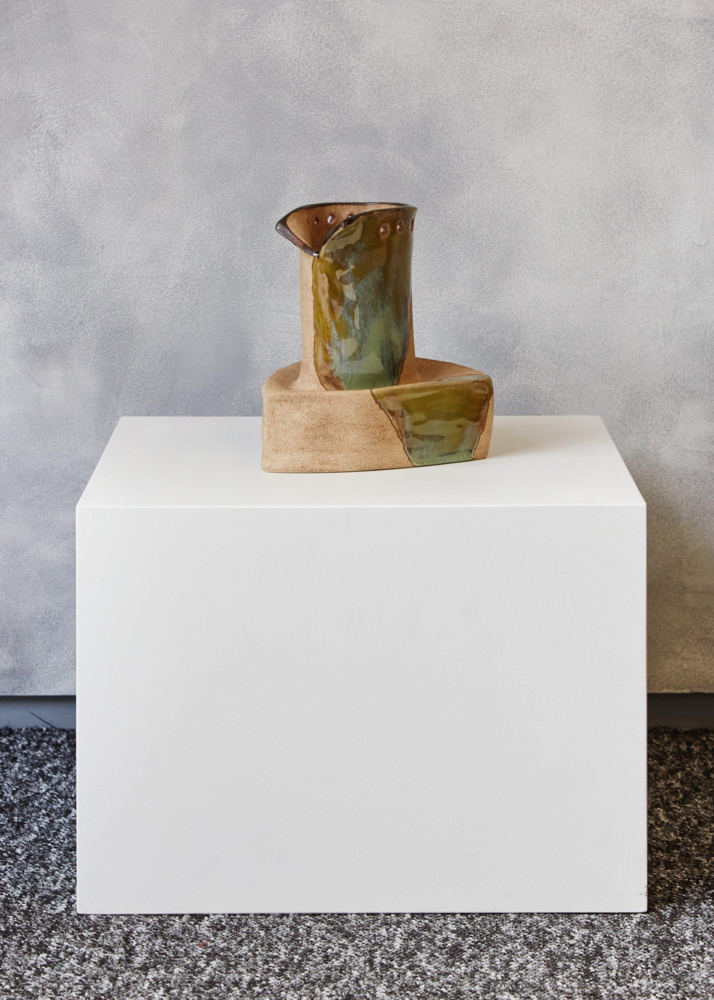 Steven, 2018 glazed stoneware ceramic 14 x 17 x 14.5 cm